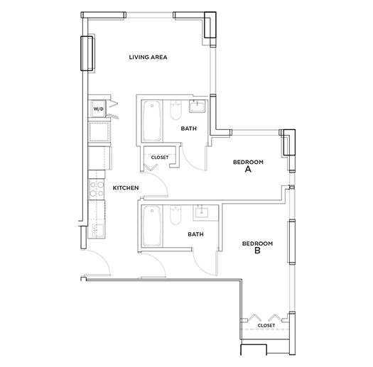 Biscayne - 2 Floorplan Image