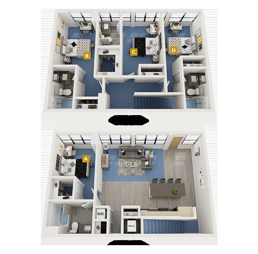 The Palm Floorplan Image