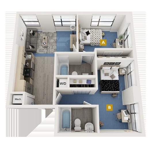 The Biscayne Floorplan Image