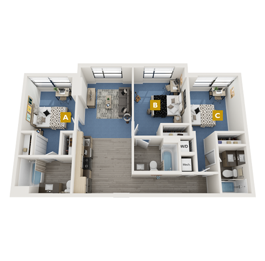 The Collins Floorplan Image