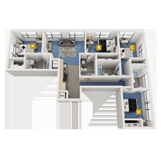 The District Floorplan Image
