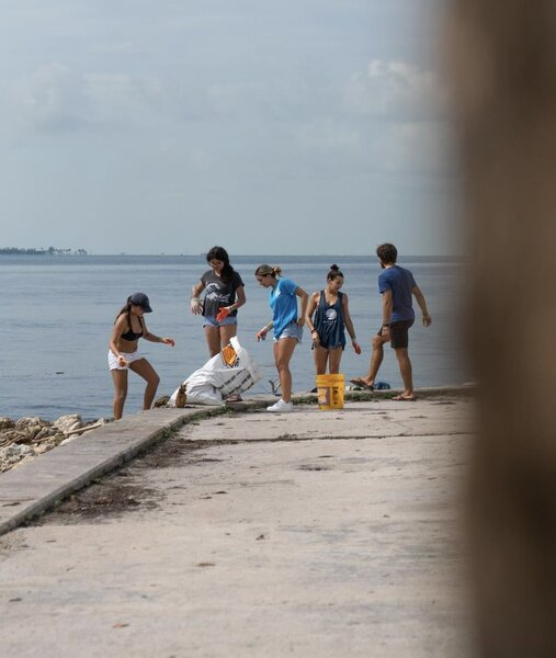 Beach Cleanup at The One at University City